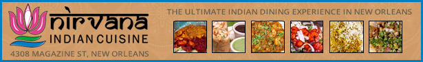 Nirvana - The ultimate Indian dining experience in New Orleans